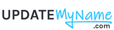 UpdateMyName Logo